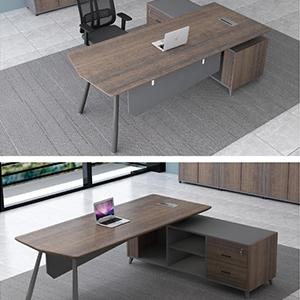现代办公桌B-604
