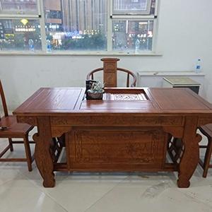 榆木系列茶桌
